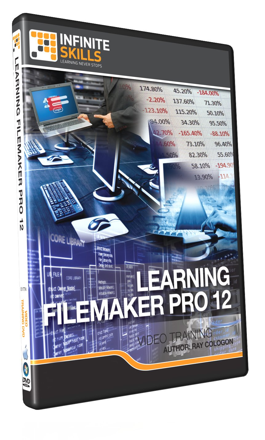 Infinite skills learning filemaker pro 12 cheap price
