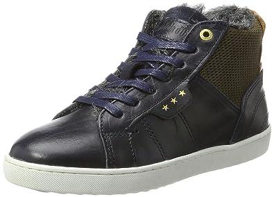 Pantofola D'ORO Jungen Canaverse Ragazzi Fur Mid Hohe Sneaker, Braun (Tortoise Shell), 34 EU