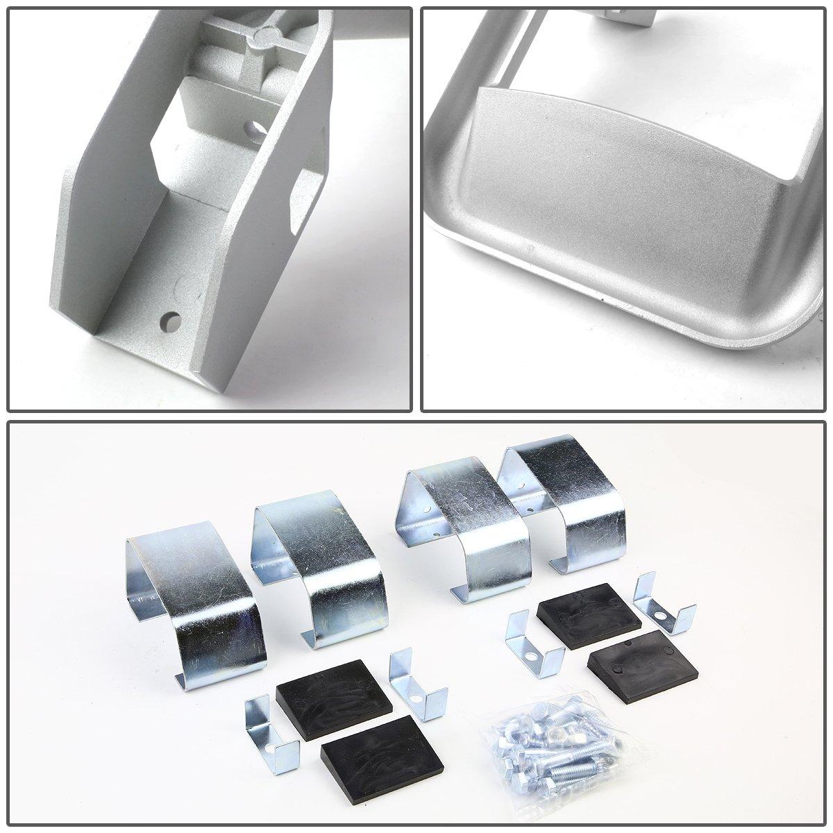 DNA Motoring SSTEP-SS Aluminum Side Steps 2pcs