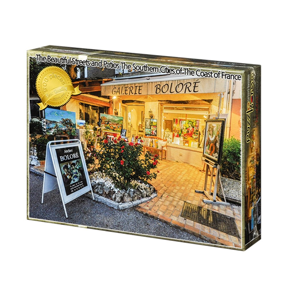 500 Piece Jigsaw Puzzle Pouch Included Puzzle Korea,Gallery Street