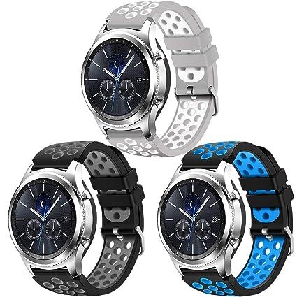 Amazon.com: DOMESKIN Smart Watch Band Compatible for Samsung ...