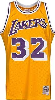 ecbee2cffd8 Mitchell   Ness Magic Johnson  32 Los Angeles Lakers 1984-85 Swingman NBA  Trikot