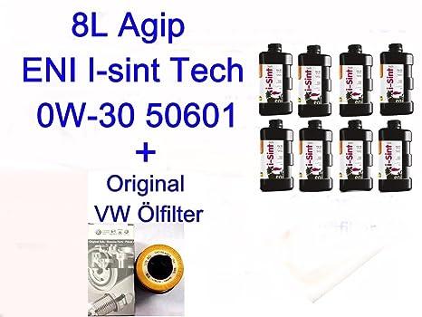 8 litros antifricción Agip/eni I de sint Tech 0 W de 30 50601 VW