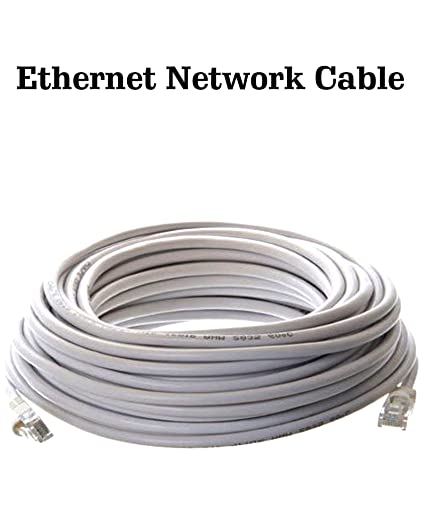 100' ft feet ethernet network patch cat6 cable for xbox \ pc.