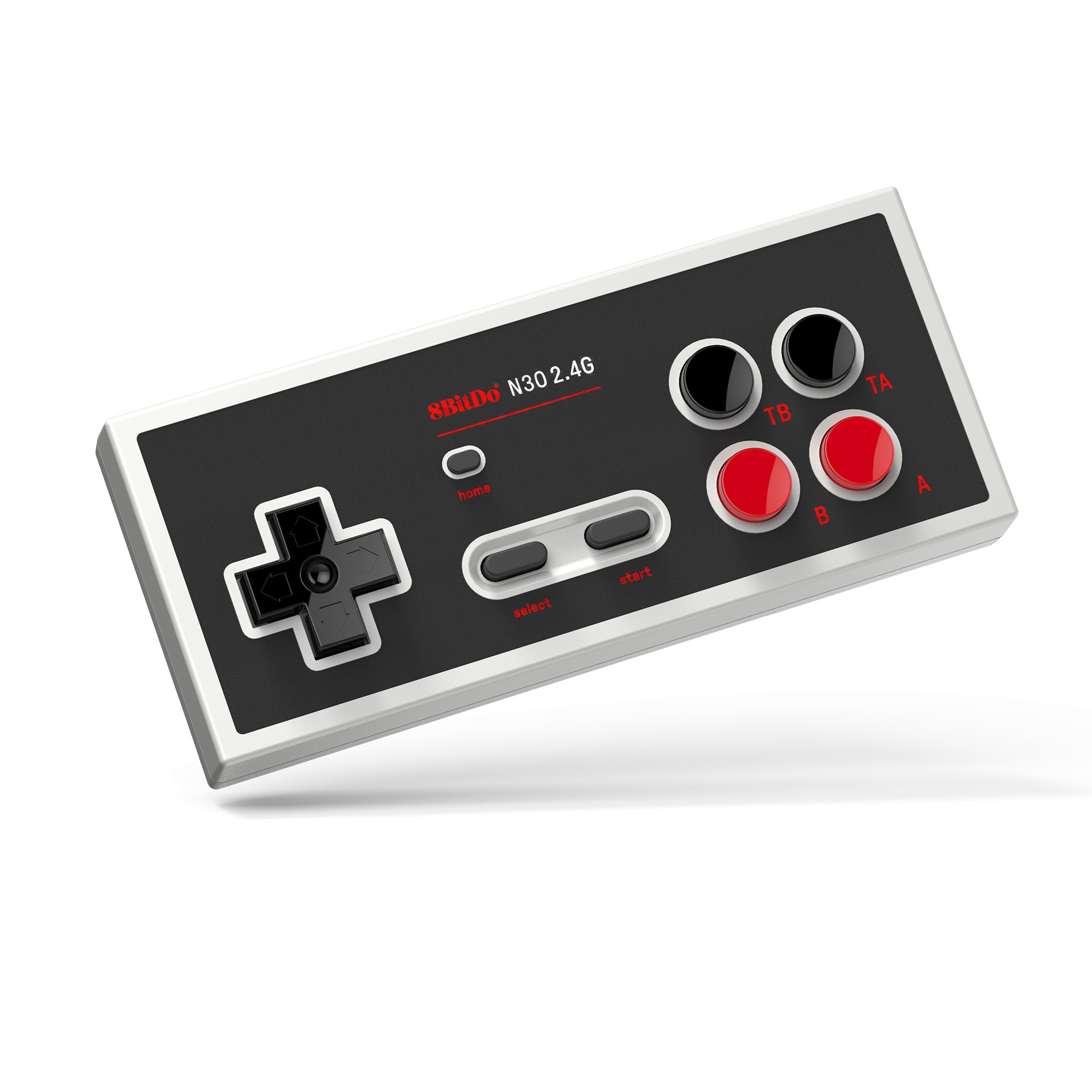 8Bitdo N30 2.4G Wireless Gamepad for NES Classic Edition - NES