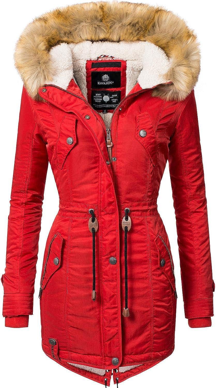Navahoo Damen Winter Mantel Winterparka La Viva 13 Farben XS-XXL