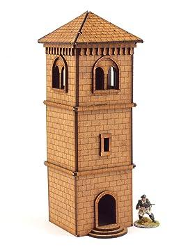 WWG Medieval Town - Campanario - 28mm Wargaming Maquetas ...