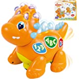Activity YoSpot Talking Dinosaur Toy with Lights and Sounds for Kids Teaching Walking /& Fun Action Learning