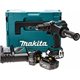 Makita DHP458RF3J 18 V Li-ion LXT Combi Drill Complete with 3 x 3.0 Ah Li-ion Batteries and Charger in a Makpac Case