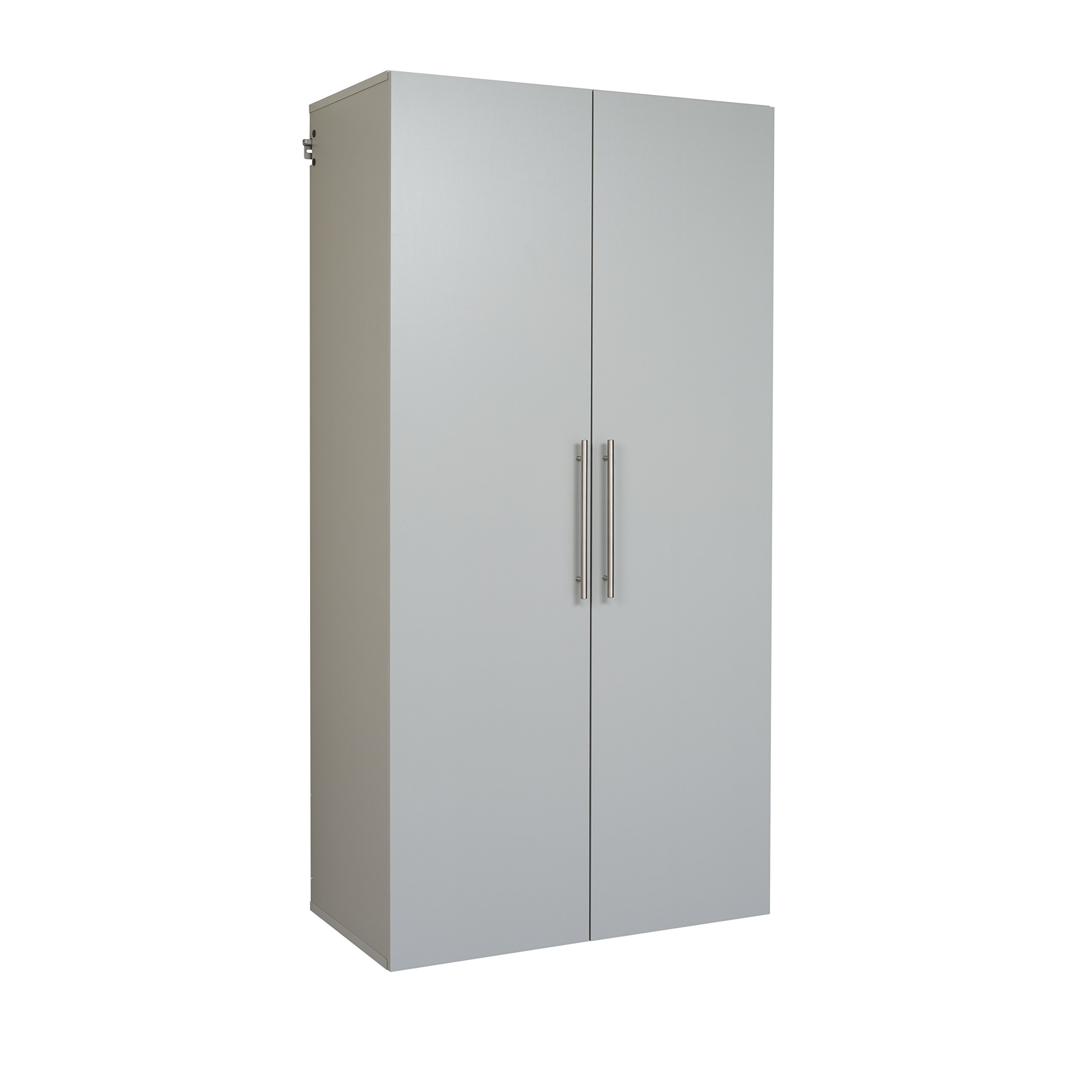 Prepac GSCW-0708-2K Hang-Ups Storage Cabinet, 36''/Large, Light Gray by Prepac