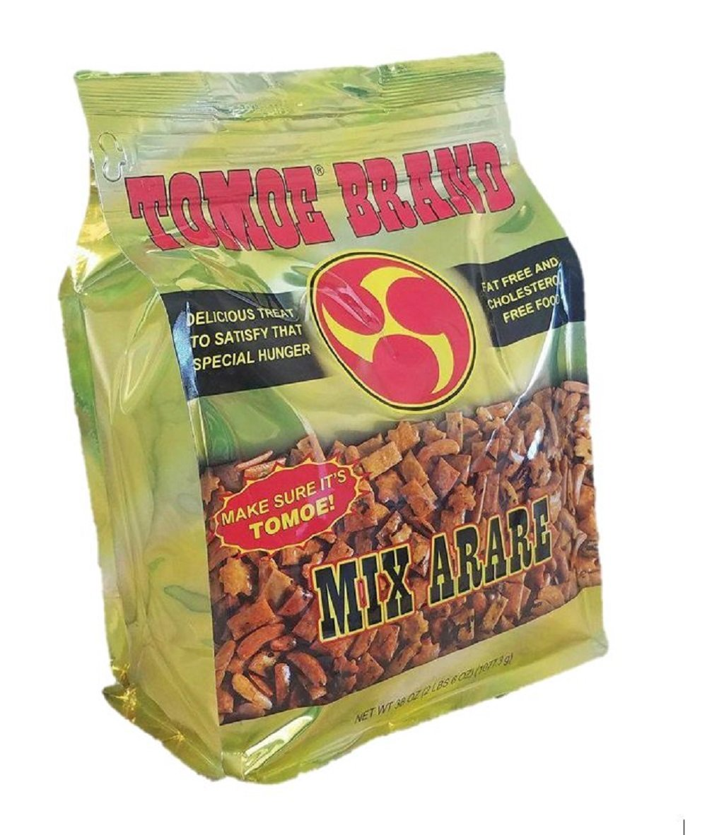 Tomoe Brand Hawaiian Mix Arare Rice Crackers (38 Ounce Bag)