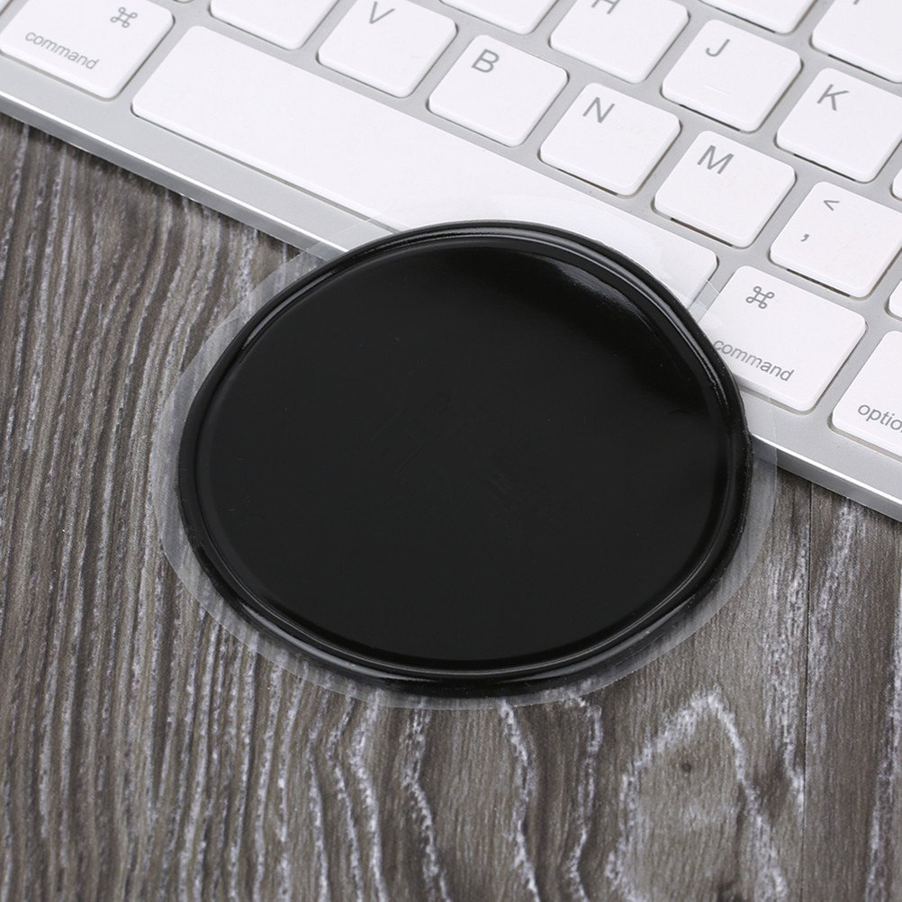 Round: Higher sticky Mirrors 5PACK Premium Fixate Cell Pads by SHUEHO Sticky Anti-Slip Gel Pads Whiteboards Non-slip Mat for Wide Applications Stick to Glass jiangchang 4326583308 Kitchen Cabinets or Tile, Metal