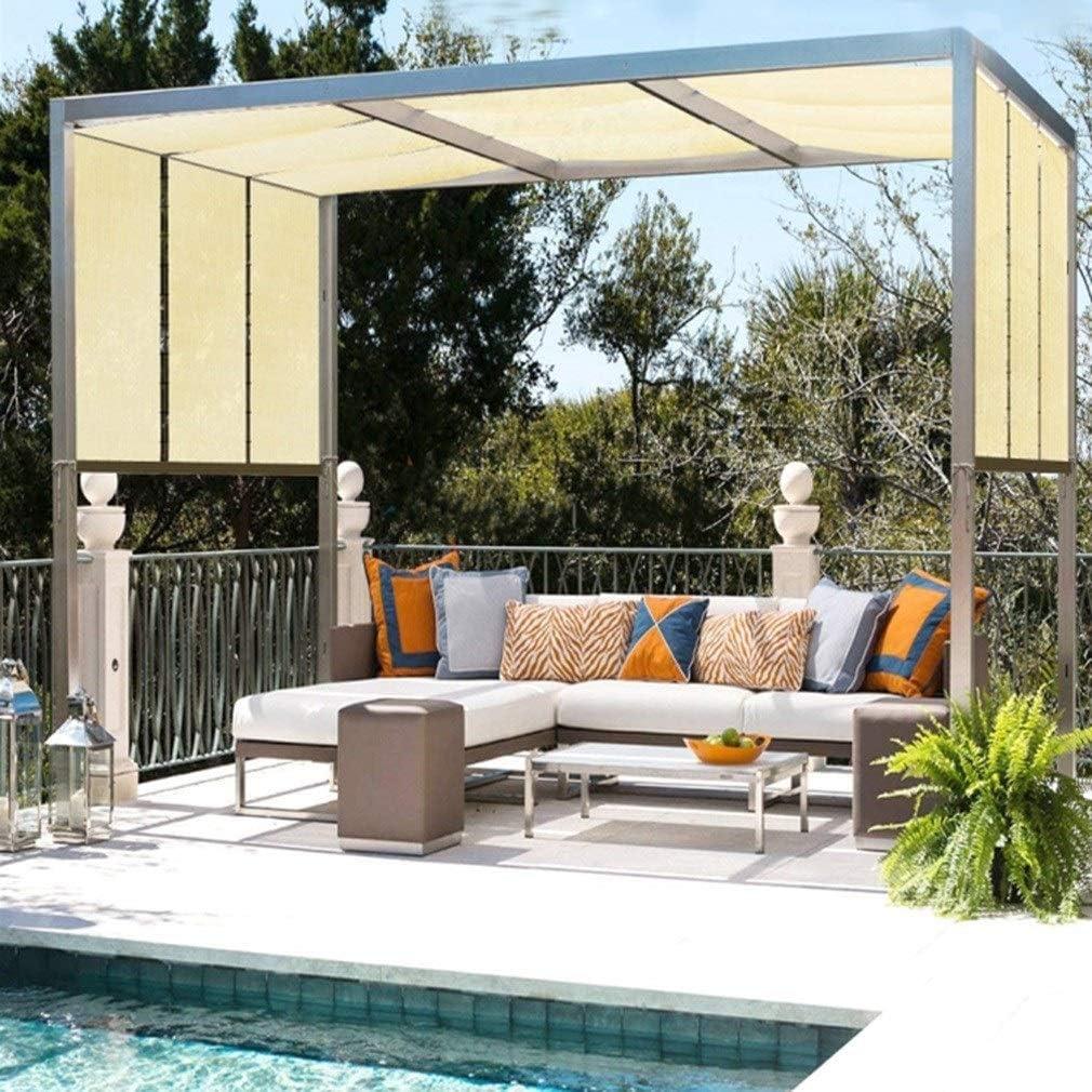 Toldo Vela de Sombra Toldo Parasol Transpirable Resistente E Impermeable Protección Color Arena Patio Gris, 21 Tallas ALGFree (Color : Beige, Size : 3×3m): Amazon.es: Hogar