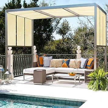 ALGFree-Shade toldos de toldo para protección Solar Aislante de Calor 90% balcón al Aire Libre refrigerante Techo Plantas de jardín, 21 tamaños: Amazon.es: Hogar