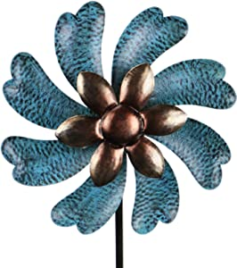 Wind Spinner Windmill for Outdoor Yard Lawn Garden Decorations Outdoor Metal Stake Yard Spinners