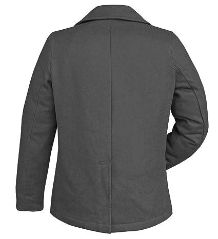 BW ONLINE SHOP Marina Pea Coat Marino Abrigo de Invierno Chaqueta  Amazon.es   Ropa y accesorios fa9284b499f4