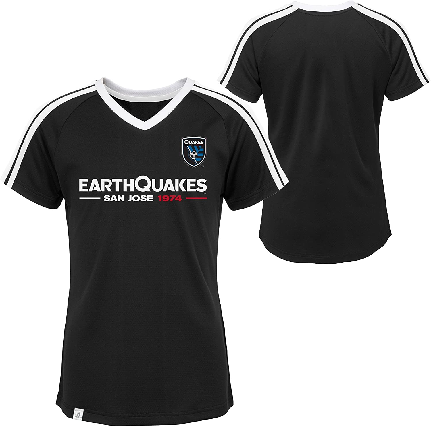MLS Girls 7-16 Short Sleeve Club Top