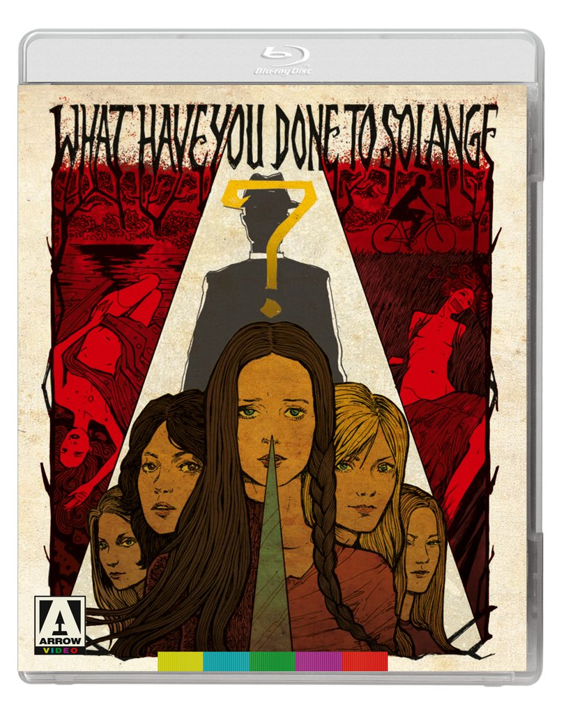 Blu-ray : What Have You Done to Solange (With DVD, 2 Disc)