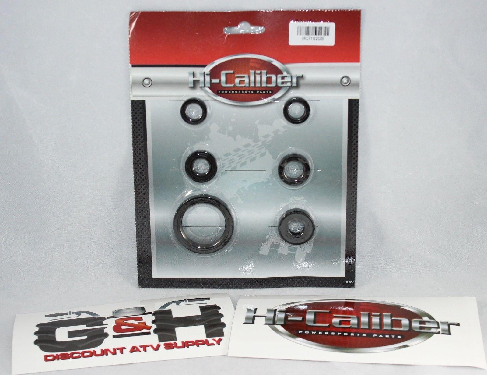 OEM QUALITY 2004-2009 Yamaha YFZ 450 Complete Engine Motor Oil Seal Kit