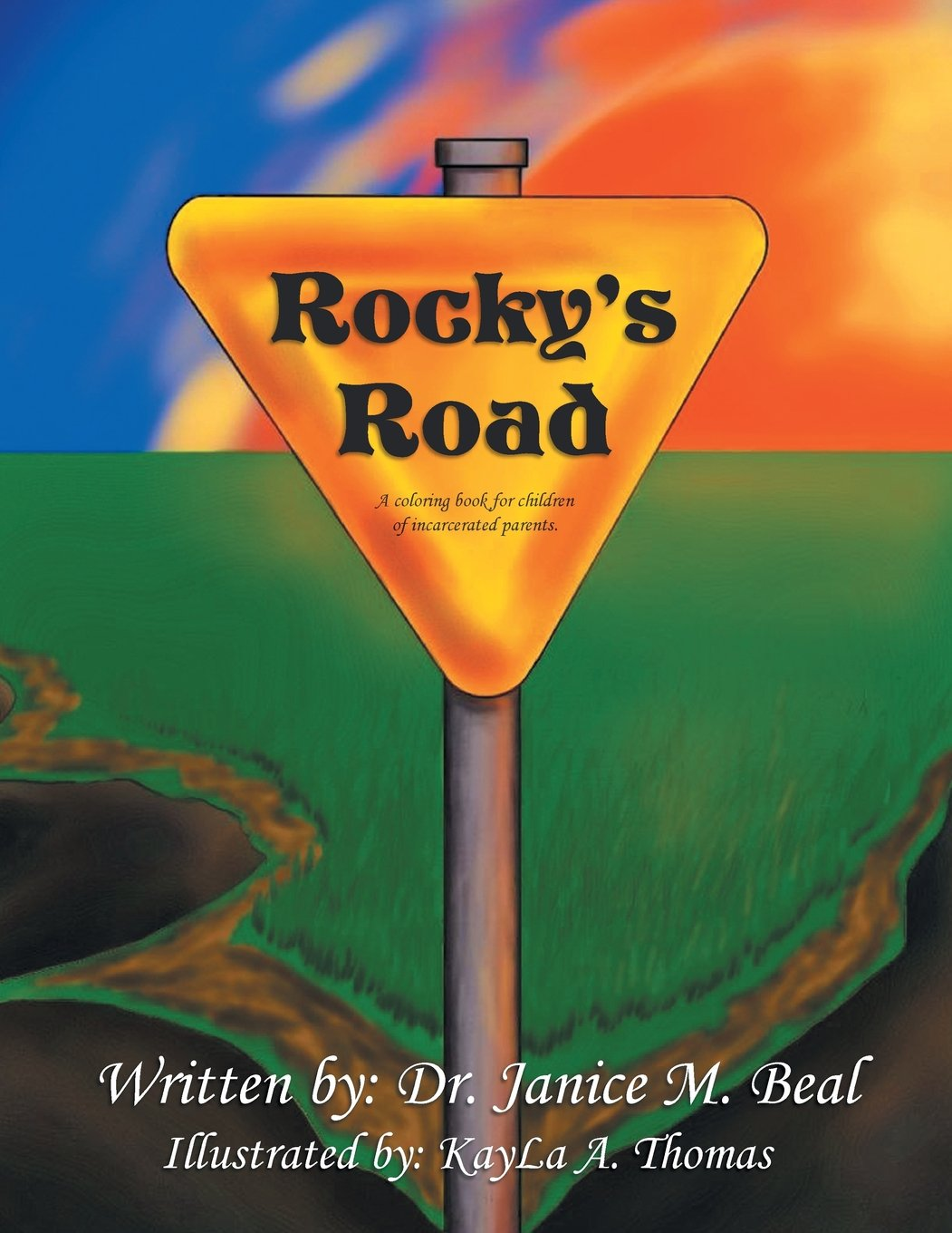 Rocky's Road: A Coloring Book for Children of Incarcerated Parents