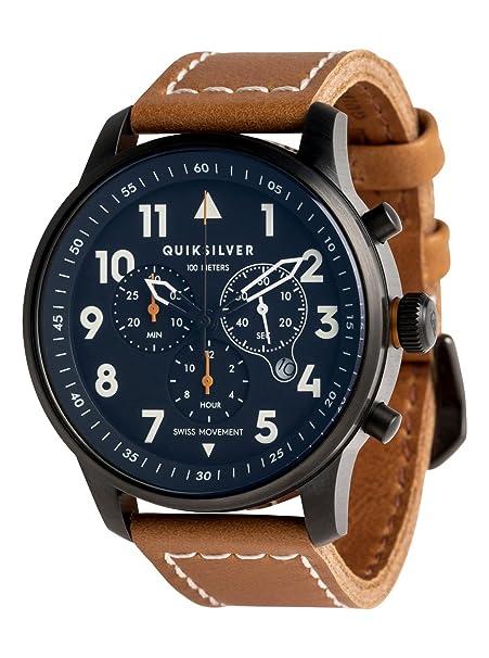 Quiksilver - Reloj Analógico - Hombre - ONE SIZE - Marrón: Quiksilver: Amazon.es: Ropa y accesorios