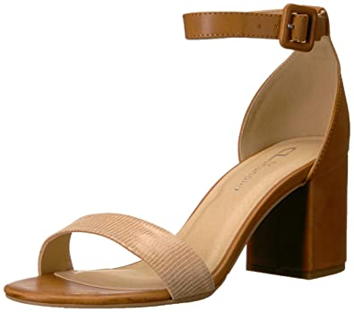 5276a8465b42 CL by Chinese Laundry Women s Jody Heeled Sandal Camel Lizard 6 ...