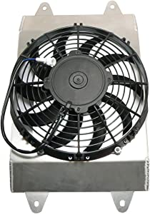 DB Electrical RFM0009 New Radiator Cooling Fan Motor Assembly For Yamaha Utv 700 Yxr70F Rhino 2008 2009 2010 2011 2012 2013 08 09 10 11 12 13, Rhino 5B4-E2405-00-00, 5B4E24050000 495837 49-5837