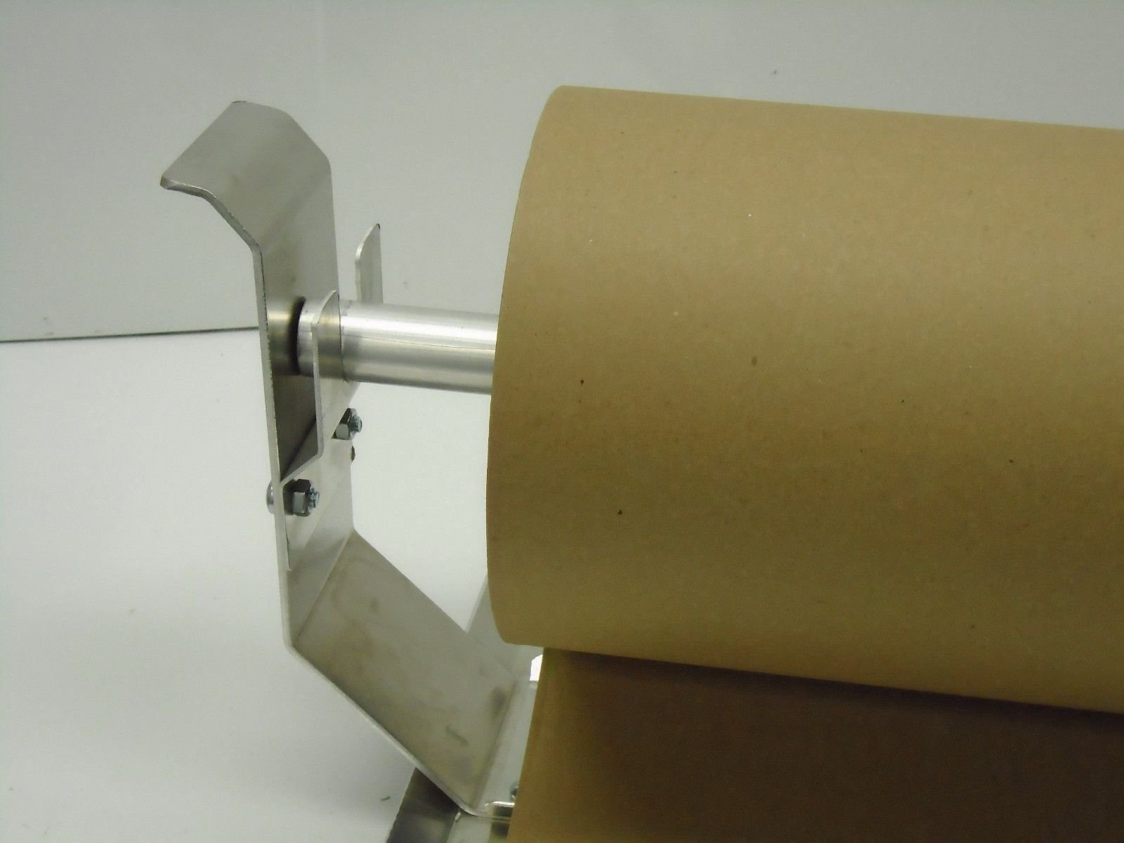 Paper Cutter Roll Dispenser Econoline 18 inches table mount Kraft paper Duralov by Duralov (Image #3)