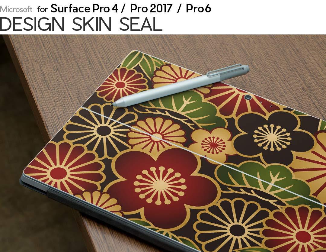 Pro 2017 2018 000116 Surface Pro 009613 igsticker Autocollant Ultra Fin 3M Premium Protection arri/ère et lat/érale Autocollants pour Tablette Microsoft Surface Pro 4 Pro 6