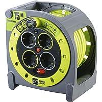 Masterplug Pro-XT - Extensión eléctrica con carrete