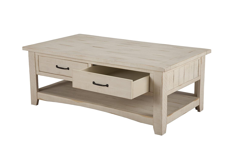 Amazoncom Martin Svensson Home 890123 Rustic Coffee Table Antique