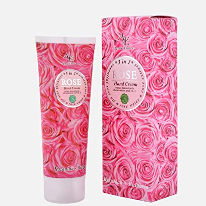 Sheabutter Perfumed Hand Cream (Rose)
