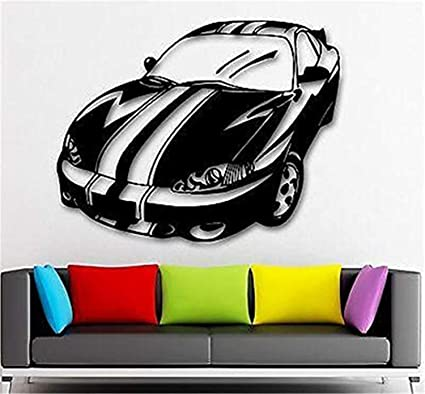 Amazon Com Car Decals Wall Art Decor Sport Retro Classic Vintage