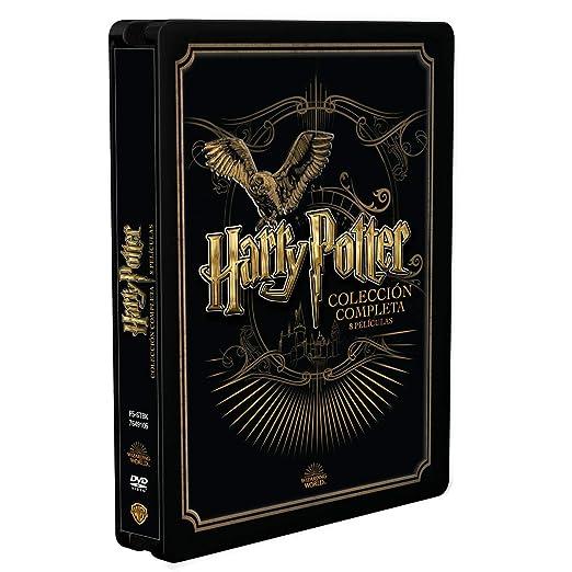 Pack Harry Potter - Colección Completa Golden Steelbook 2019 DVD ...