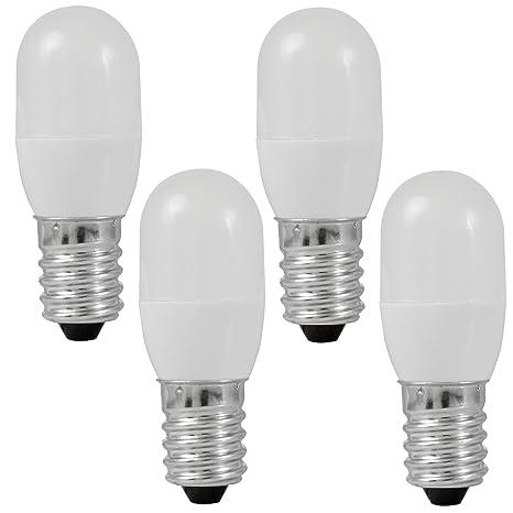 MENGS® Pack de 4 Bombilla lámpara LED 0.5 Watt E14, 3x 5050 SMD,