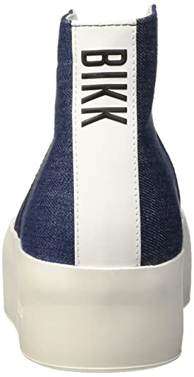 Bikkembergs Pow-Er 603 M.Shoe W Denim/Elastic, Zapatillas Altas para Mujer, Azul (BLU), 39 EU