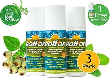 Amazon.com: Premiere del Dolor Spray Roll-On (liquid-gel ...