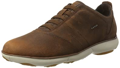 84913136f1 Amazon.com | Geox U Nebula B Mens Slip On Leather Sneakers/Shoes ...