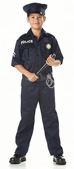 California Costumes Toys Police X-Small  sc 1 st  Amazon.com & Amazon.com: California Costumes Police Costume: Clothing