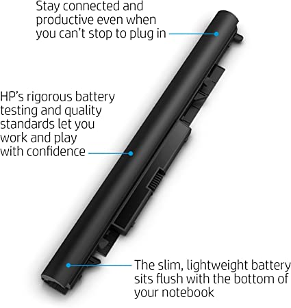 Hp Jc04 Battery Laptop Battery Black Computers Accessories