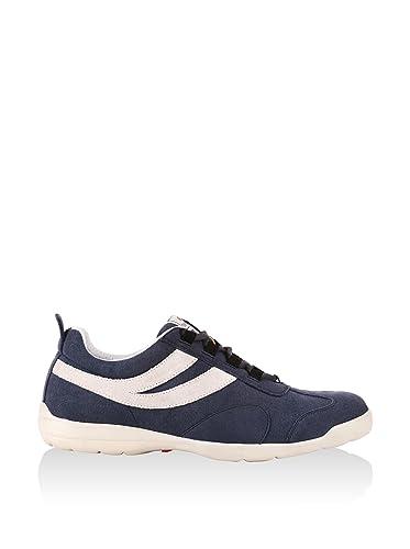 8ccbb8d295057 Superga Men s Indoor Court Shoes Blue Blu Navy Bianco 2 UK  Amazon ...