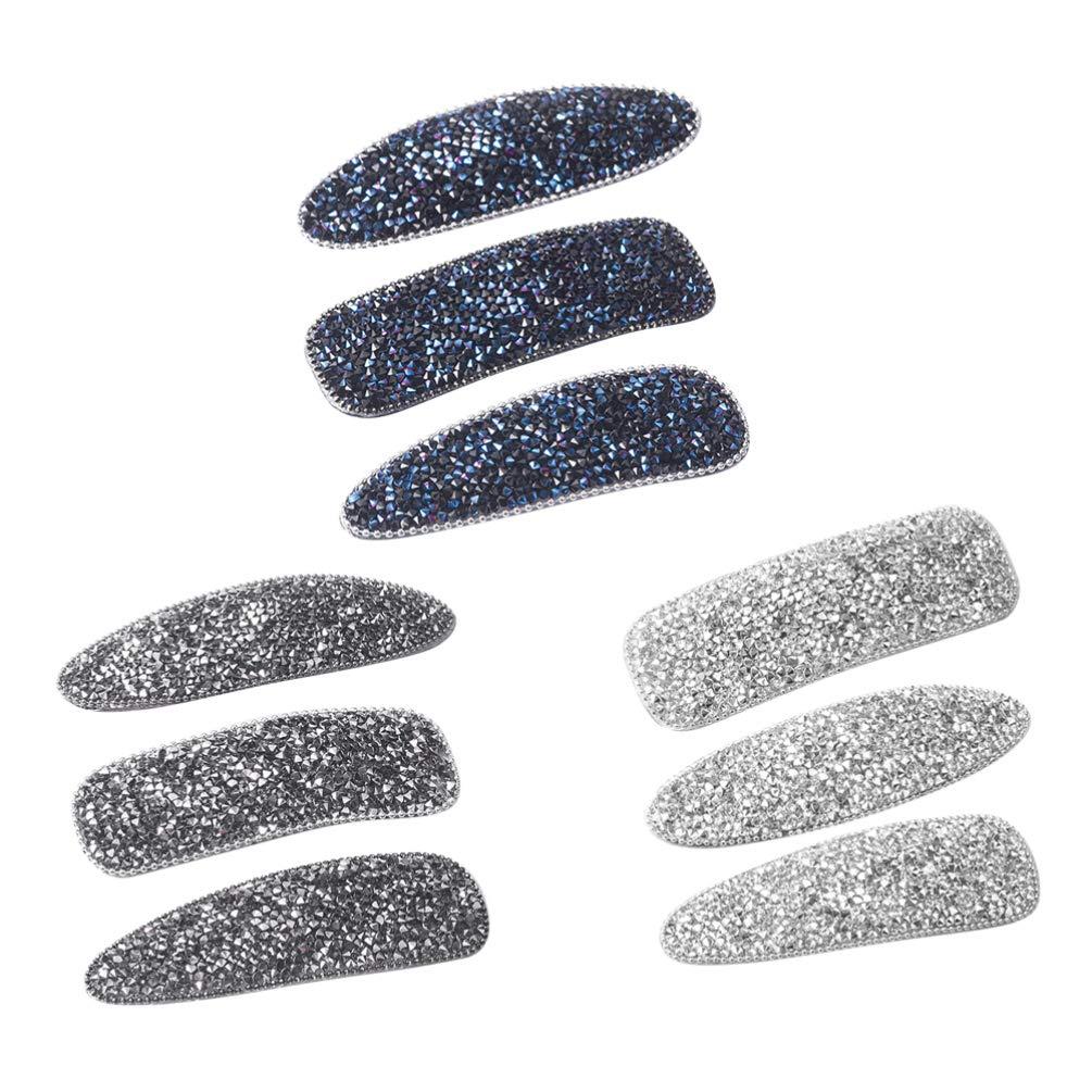 Sparkle gray seeds rhinestone snap hairclips gray rhinestone hair clip gray snap clip gray snap clips gray snap hair pin