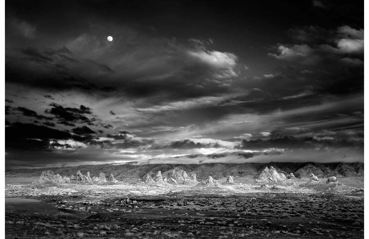 Moonrise Trona (A print and book set) by