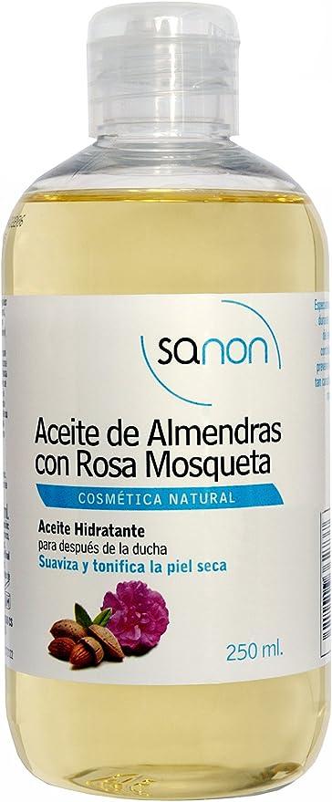 Sanon Aceite De Almendras Con Rosa Mosqueta 2 Unidades Amazon Es Belleza
