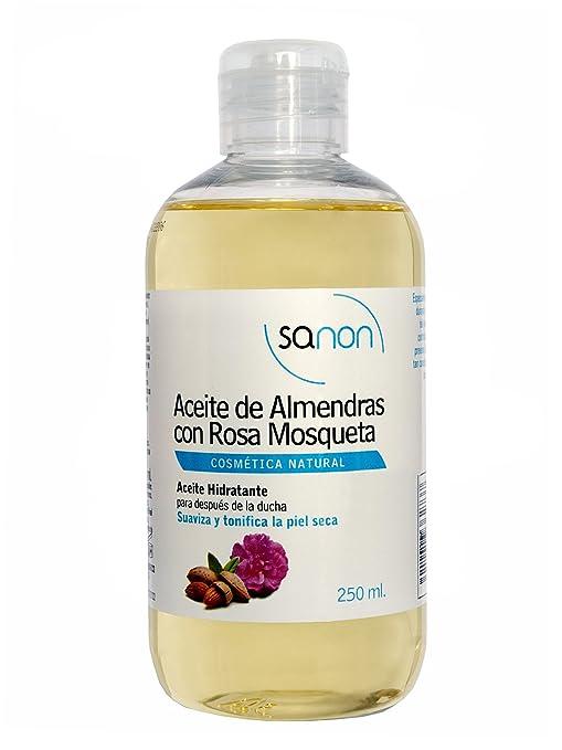 Sanon Aceite de Almendras con Rosa Mosqueta - 2 Unidades: Amazon.es: Belleza