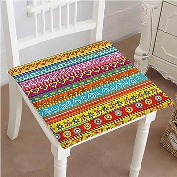 Amazon.com: Mikihome - Cojín decorativo para silla clásica ...