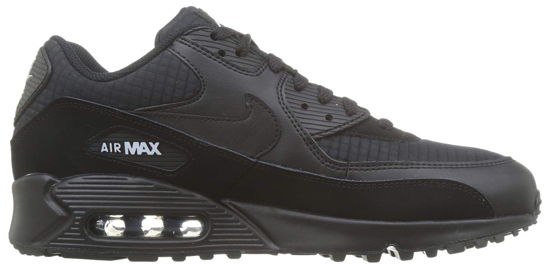 Nike Mens Air Max 90 Essential Running Shoes BlackWhite AJ1285 019 Size 13