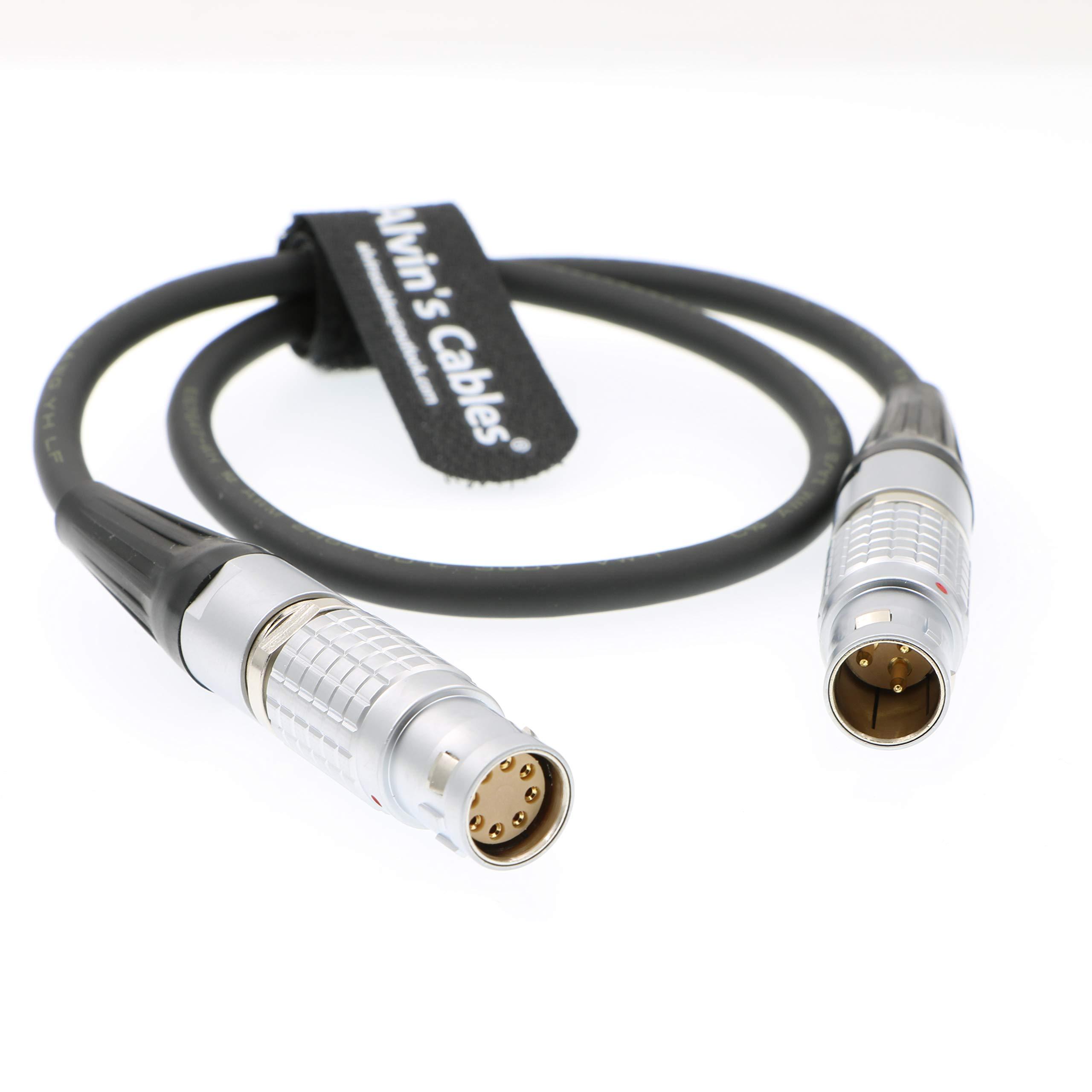 Alvin's Cables Stabilzation Tiffen Ultra 2c Steadicam M1 3 pin Male CAM PWR to Arri Alexa Mini AMIRAI 8 pin Female Power Cable