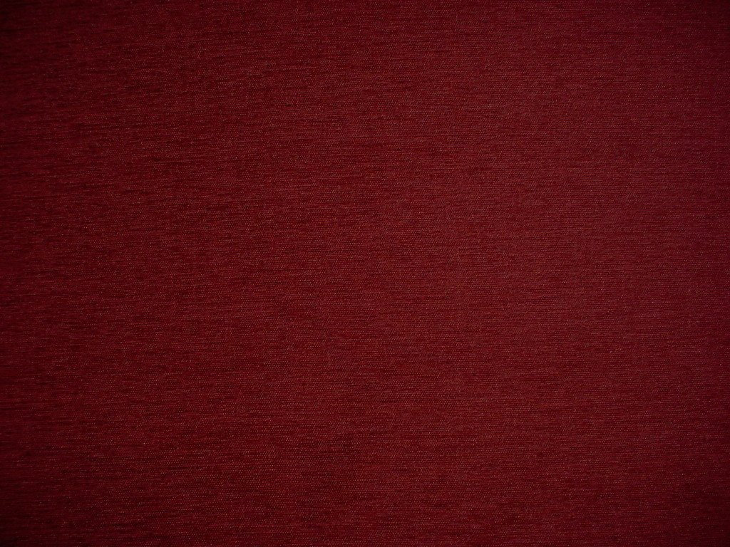 by The Yard Kacar Textiles Prince Buttery Burgundy Red Chenille Strie Designer Upholstery Drapery Fabric