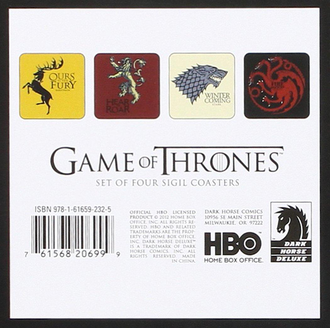 Amazon.com: Dark Horse Deluxe Game of Thrones: House Sigil Coaster ...
